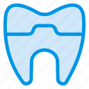 cavity, damage, dental, dentist, frizz, hail, tooth icon