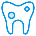 cavity, damage, damaged, dental, dentist, floaride, tooth icon