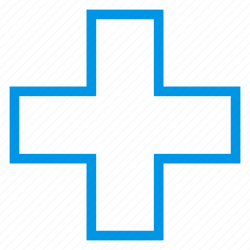 care, cross, doctor, healthy, hospital, medical, sign icon
