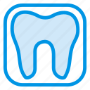caveat, filling, health, human, hygiene, tooth, toothpaste icon