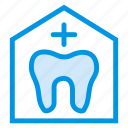 clinic, dentist, healthy, hospital, laboratory, teeth, tooth icon