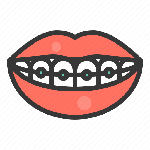 Dental, dentistry, teeth, tooth, braces, dental braces, mouth icon - Download on Iconfinder