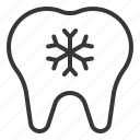 dental, dentist, dentistry, hypersensitive teeth, teeth, tooth icon