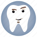 attitude, dental, dentist, tooth icon
