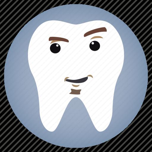 attitude, dental, dentist, tooth icon