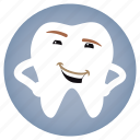 dental, dentist, stylish, tooth icon