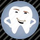 stylish, dental, dentist, tooth icon