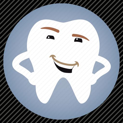 dental, dentist, stylish, tooth icon