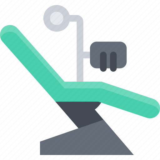 armchair, dentist, doctor, medicine, teeth, tooth icon
