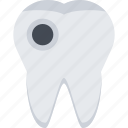 dentist, doctor, hole, medicine, teeth, tooth icon