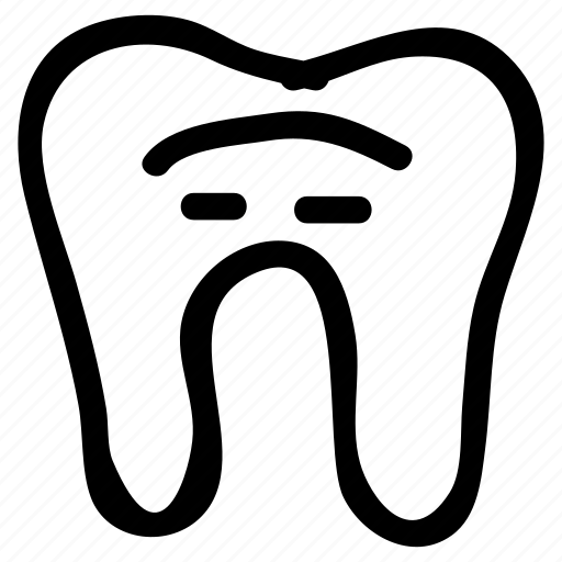 caveat, dental, dentist, filling, human, teeth, tooth icon