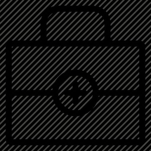 bag, case, health, medical, medicalkit, office, portfolio icon