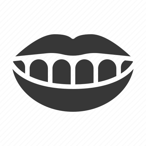dental, dentistry, happy, mouth, smile, teeth, tooth icon