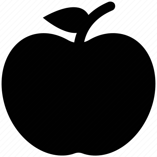apple, food, fresh apple, fruit, healthful, healthy food icon