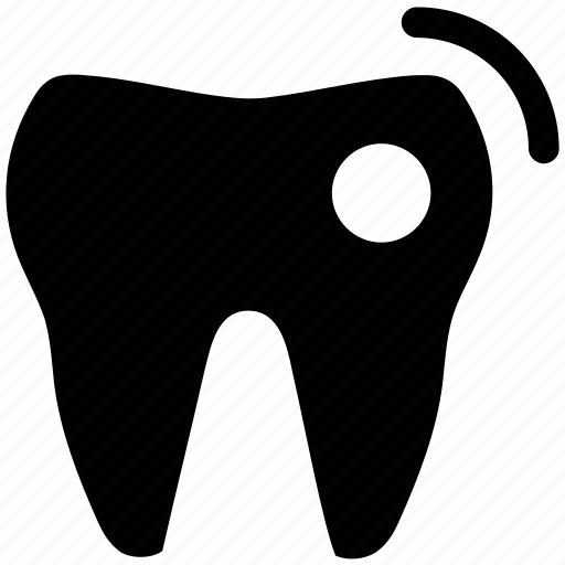 cavity in tooth, molar, molar with cavity, teeth cavity, tooth disease icon