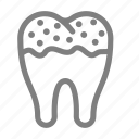 decayed, dental, dirty, health, tooth