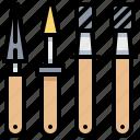 bur, carbide, dentist, finishing, tool icon