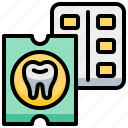 dental, dentist, drug, gum, teeth, tooth icon