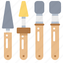 bur, carbide, dentist, finishing, tool icon