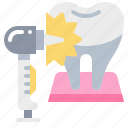 dental, dentist, dentistry, tool icon