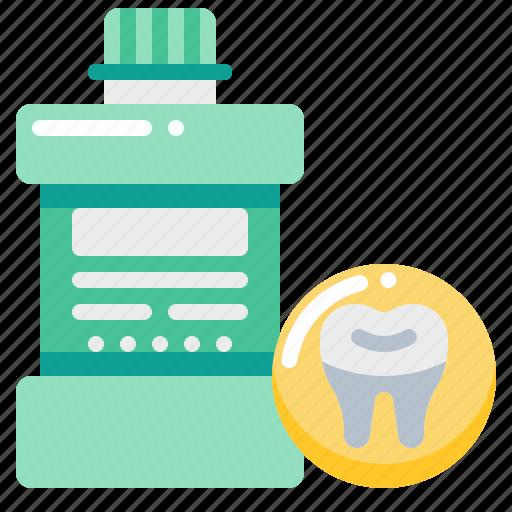 clean, dental, dentist, mouthwash, teeth, tooth icon