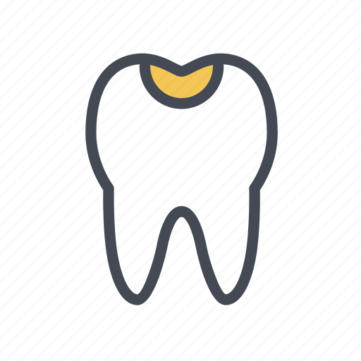 dental, dentist, filling, tooth icon