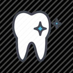 dental, dentist, polishing, tooth, whitening icon