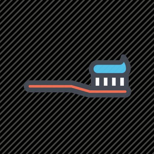 dental, health, hygiene, oral, toothbrush icon
