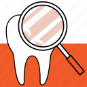 check, dentist, dentistry, examination, orthodontics, teeth icon