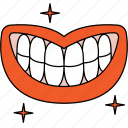 check, dentist, dentistry, healthy, mouth, orthodontics, tooth icon