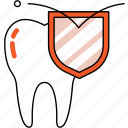 dentistry, healthy, orthodontics, protect, strong, teeth, tooth icon
