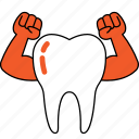dentist, dentistry, healthy, orthodontics, strong, teeth, tooth icon