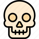 adventure, desert, land, outdoor, skull icon