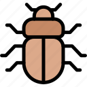 adventure, beetle, desert, land, outdoor icon