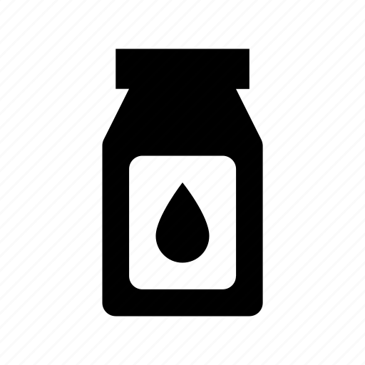 color jar, colors, jar, liquid jar, paint jar icon