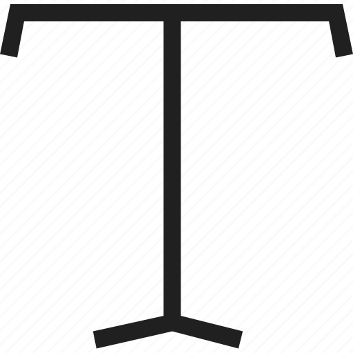 mark, plain, text icon