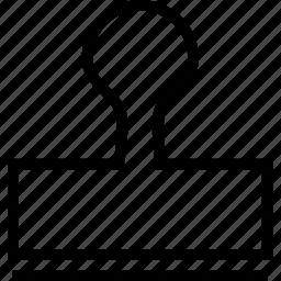 clone, design, stamp, tool icon