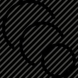 circle, figure, gradiant, shape, tool icon
