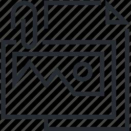 brief, creative, design, line, thin icon