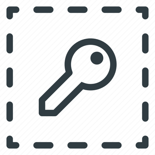 align, key, object icon