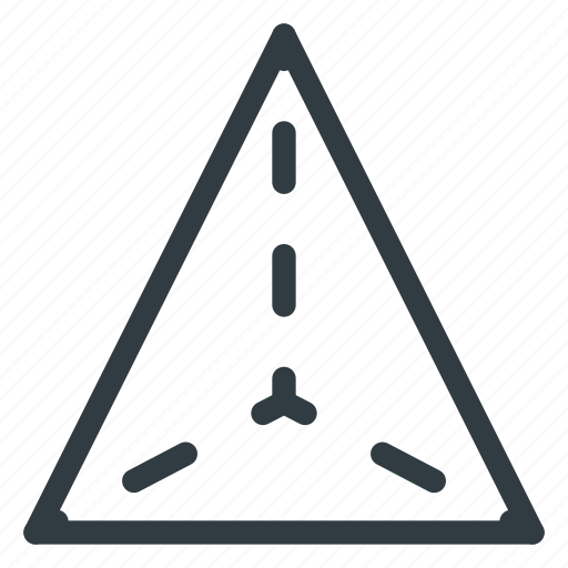 geometry, object, tetraeder, triangle icon