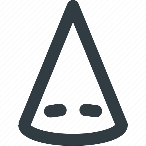cone, gometry, object icon