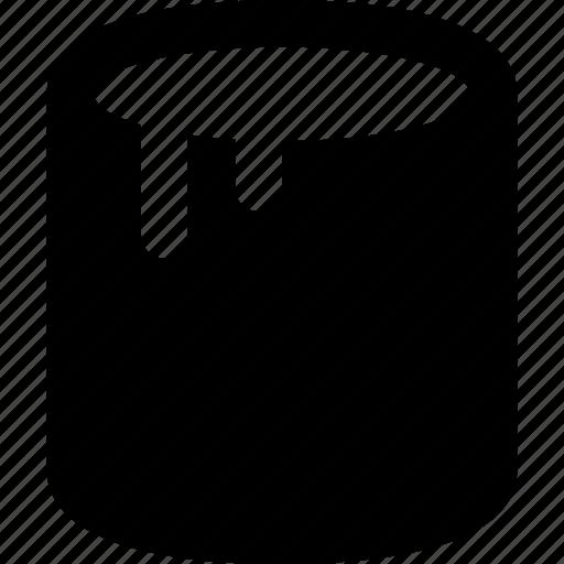 bucket, drip icon