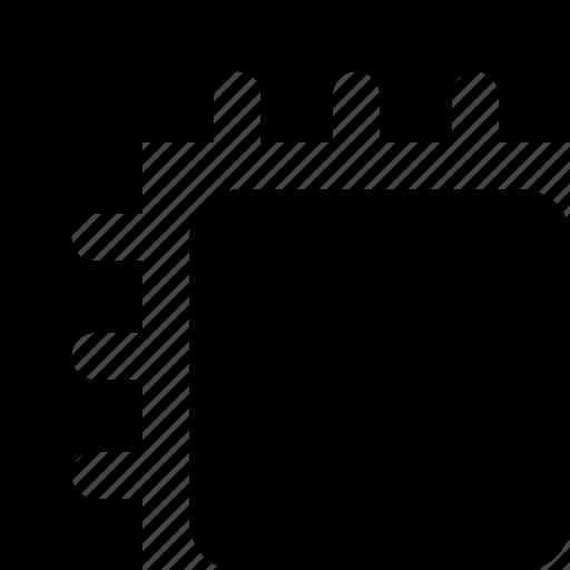 ruler, square icon