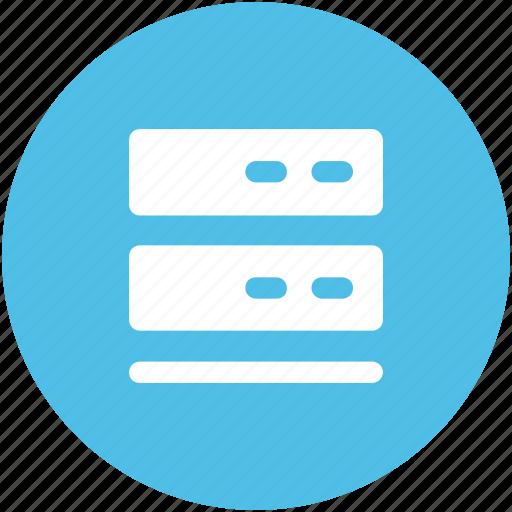 data center, server, storage, web hosting, web hosting server icon