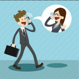business, communication, marketing, mo, mobile icon