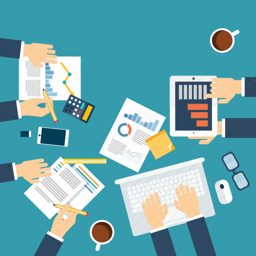 business, company, conference, office, people icon