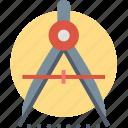 precision, compass, creative, design, measure, tool, work