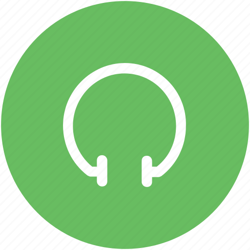 ear speakers, earbuds, earphones, headphone icon