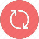 initializing, loading arrows, processing, refresh, sync, synchronization icon